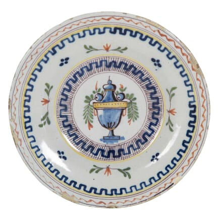 18th Century Tin Glazed Plate DA0153913