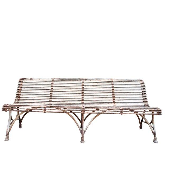Wrought Iron Garden Seat GA1961074