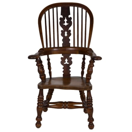 Yew Wood Windsor Armchair CH274276