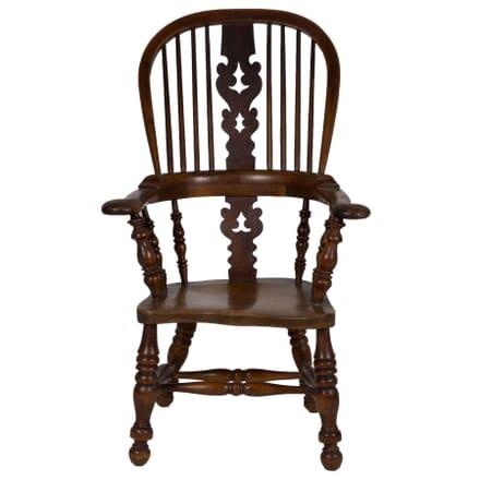 Yew Wood Windsor Armchair CH274276