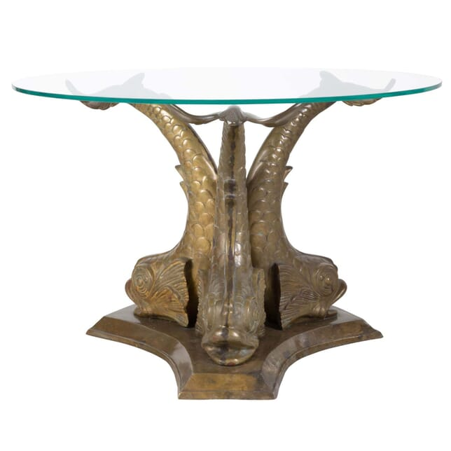 Bronze Dolphin Coffee Table CT159362