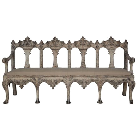 19th Century Swedish Bench SB112307