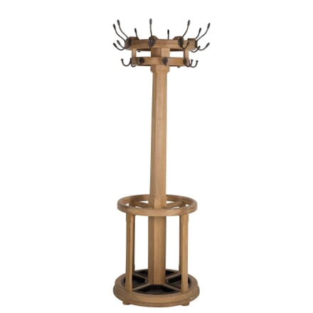 Contemporary Oak Revolving Hall Stand OF102969