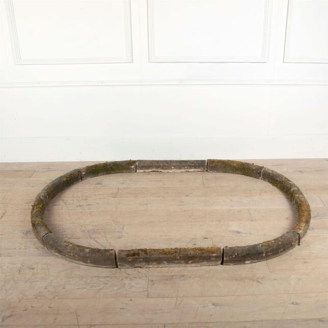 Early 19th Century Carved Stone Pool Surround GA0961264