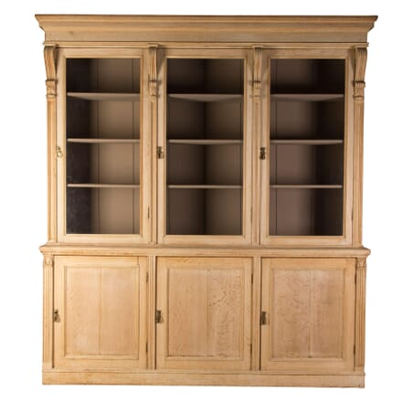 Bleached Oak Bookcase BK1358734