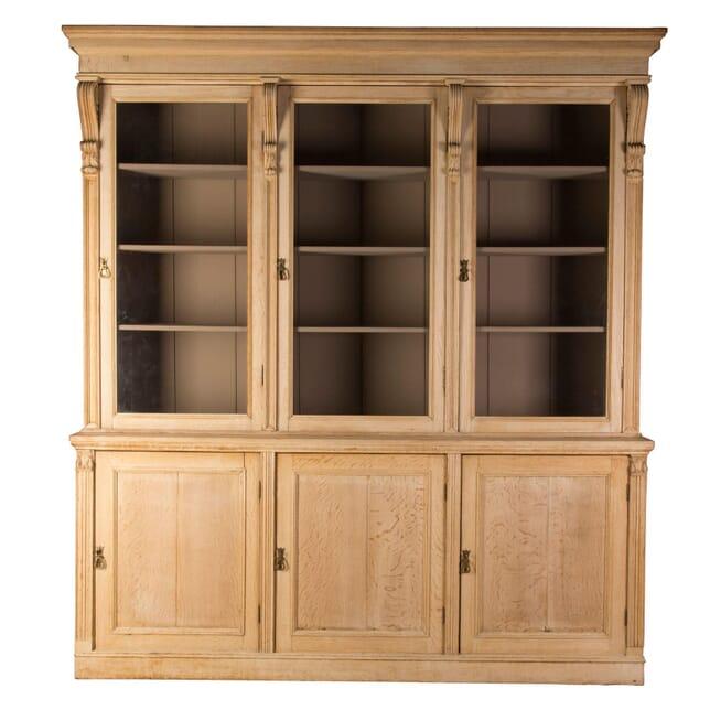Bleached Oak Bookcase BK1358734