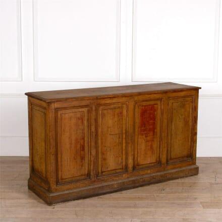 English Oak Shop Counter OF287320