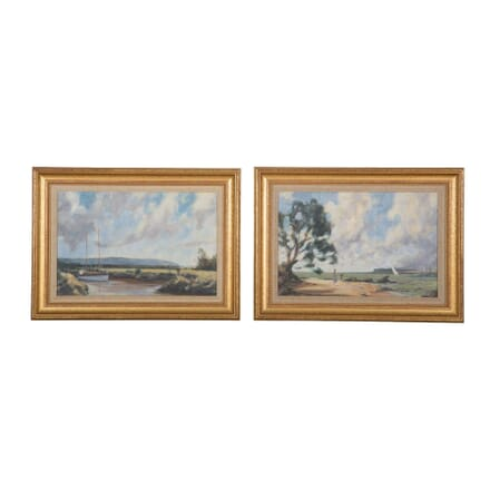 Pair of Oil Paintings WD6357640