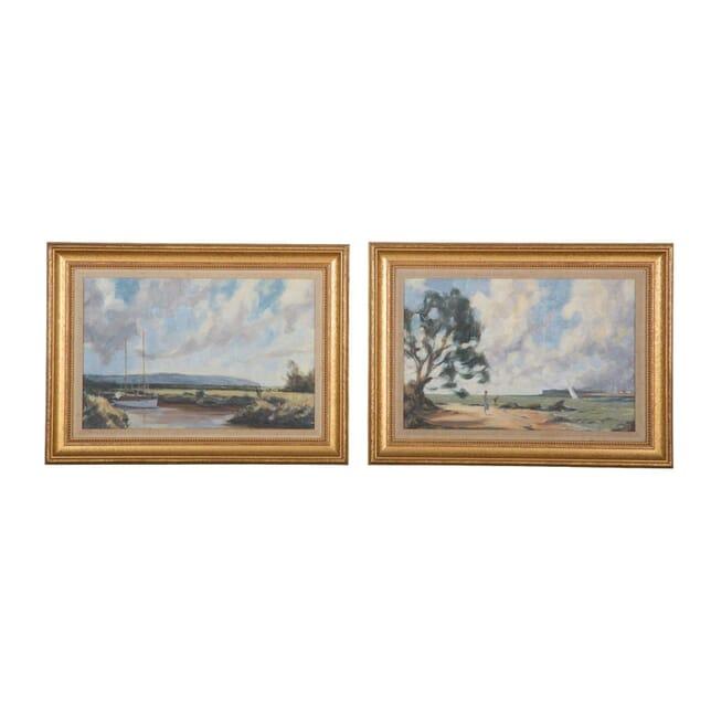 Pair of Oil Paintings WD6357640