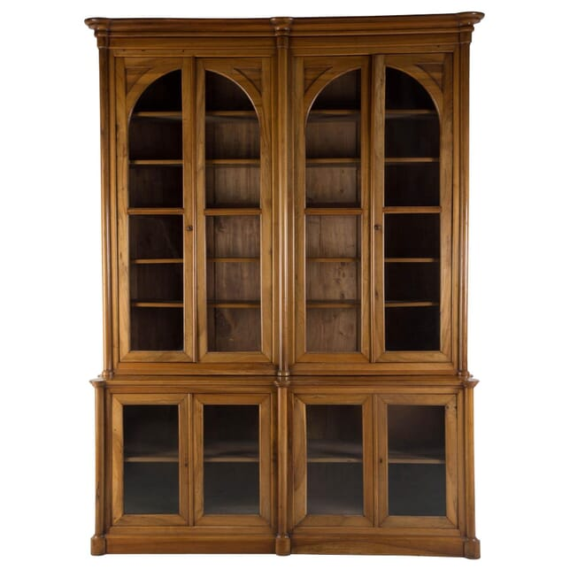 19th Century French Walnut Library Bookcase BK0110274