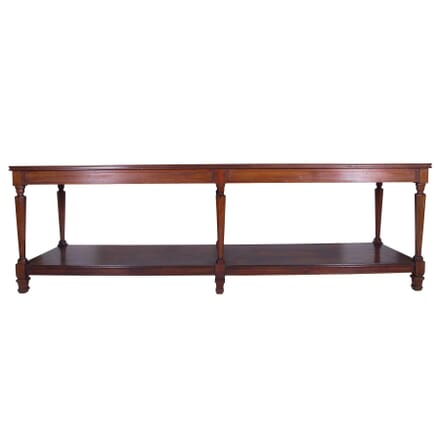 19th Century French Walnut Drapers Table TS7359910