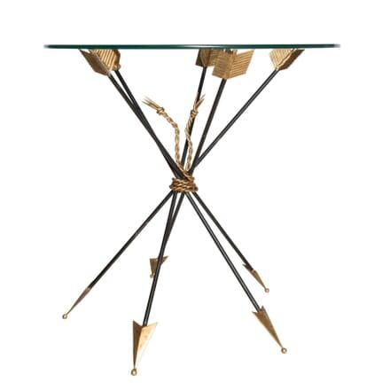 Italian Mid Century Arrow Table In Style of Gio Ponti TC5958083