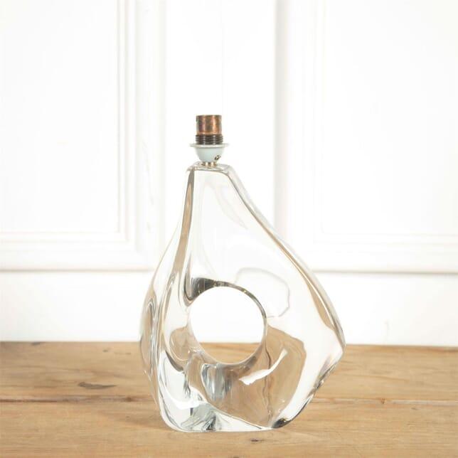 Signed Jean Daum Crystal Table Lamp LT9061304