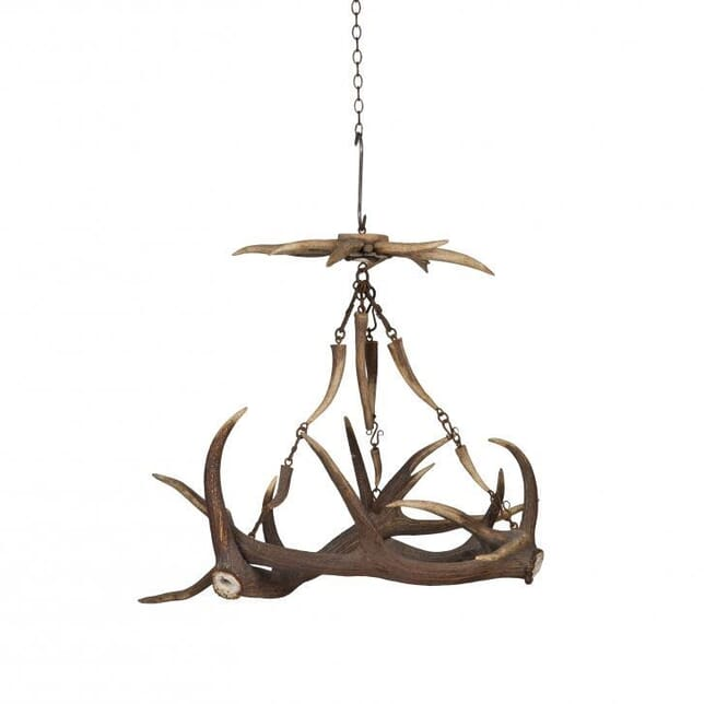 Decorative Hanging Antler c.1900 LC151945