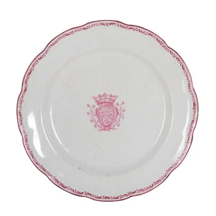 18th Century Faience Plate DA0153912