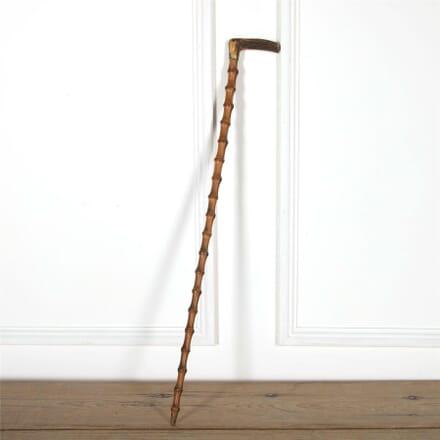 19th Century Bamboo Walking Cane DA597626