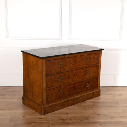 19th Century Burr Ash Commode CC4762177