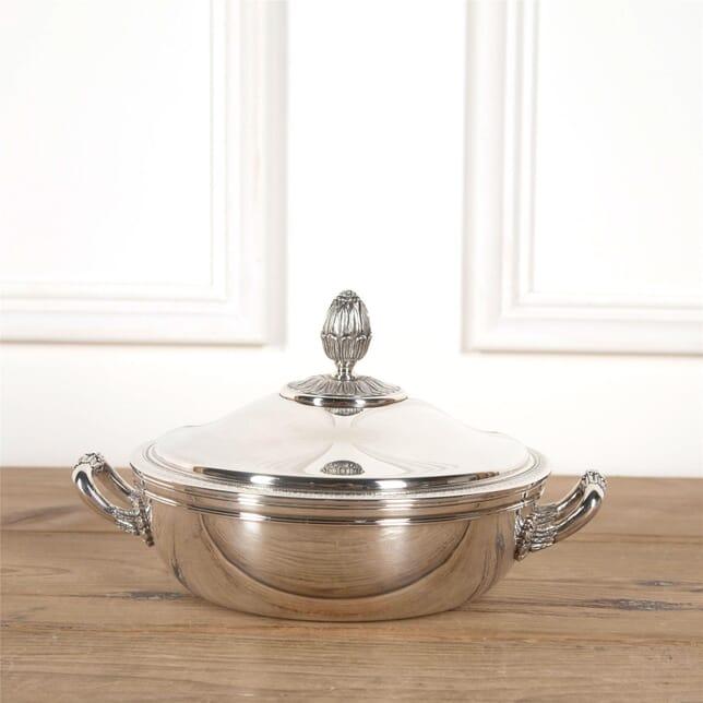 Christofle Malmaison Ecuelle Serving Dish and Cover DA5862045