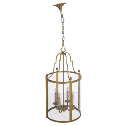 Large Gilt Brass French Lantern LL3660169