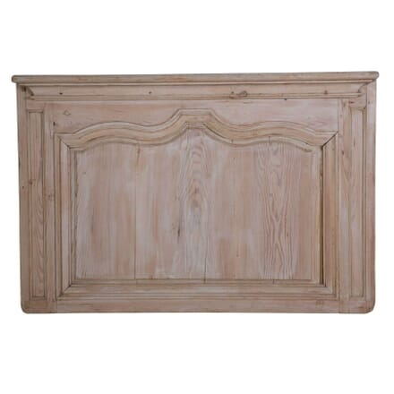French 18th Century Moulded Pine Panel WD449747