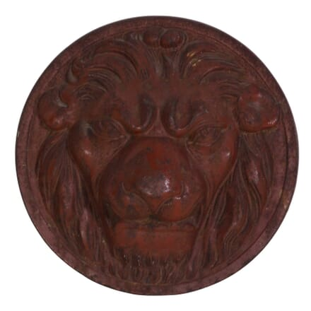 19th C. Lion Mask Plaque DA2011107