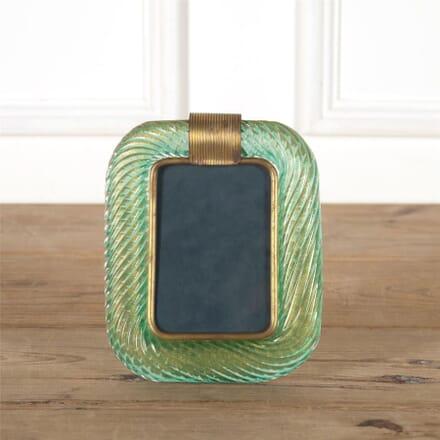 Murano Venini Glass Rope Photograph Frame DA587342