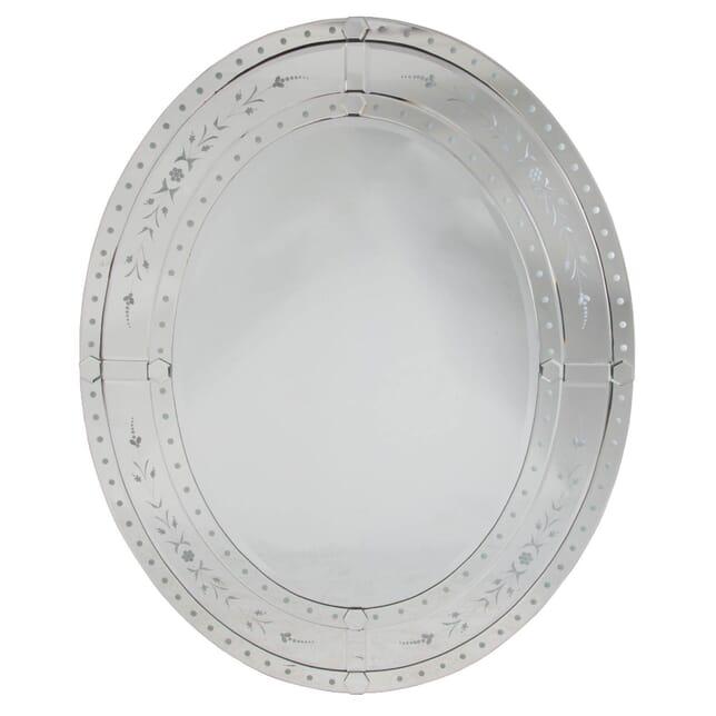 Decorative Oval Mirror MI107808