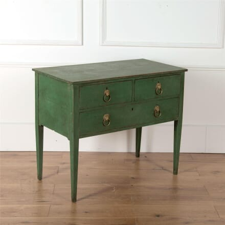 English Painted Low Boy Commode CC4362153