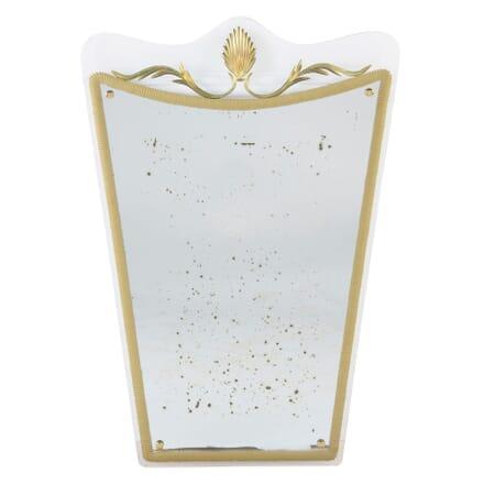 Shield Shaped Wall Mirror MI3054626