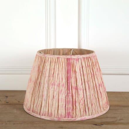 40cm Pink Silk Lampshade LS6661375