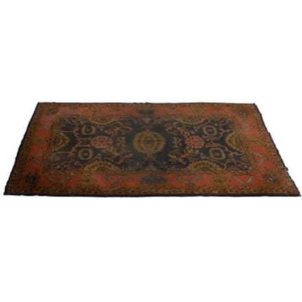 Early 20th Century Ushak Rug with Original Maple & Co Retailers Mark RT2360066
