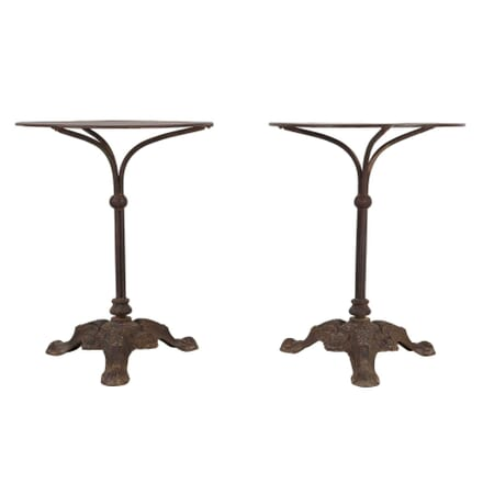 Pair of Iron Café Tables TS1560637
