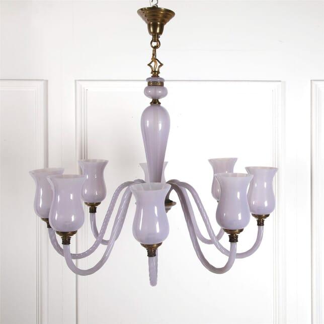 Rare Lilac Murano Glass Chandelier LC3062287