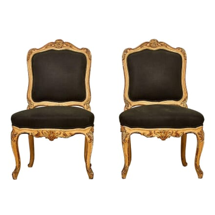 Pair of Louis XV Revival Side Chairs CH178188