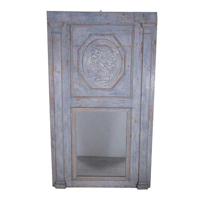 French Painted Trumeau Mirror MI7359925