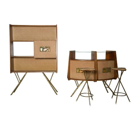 Matching Bar and Bookcases OF5255767