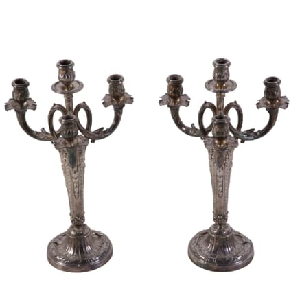 Pair of Louis XVI Style Candleabras LT1710154