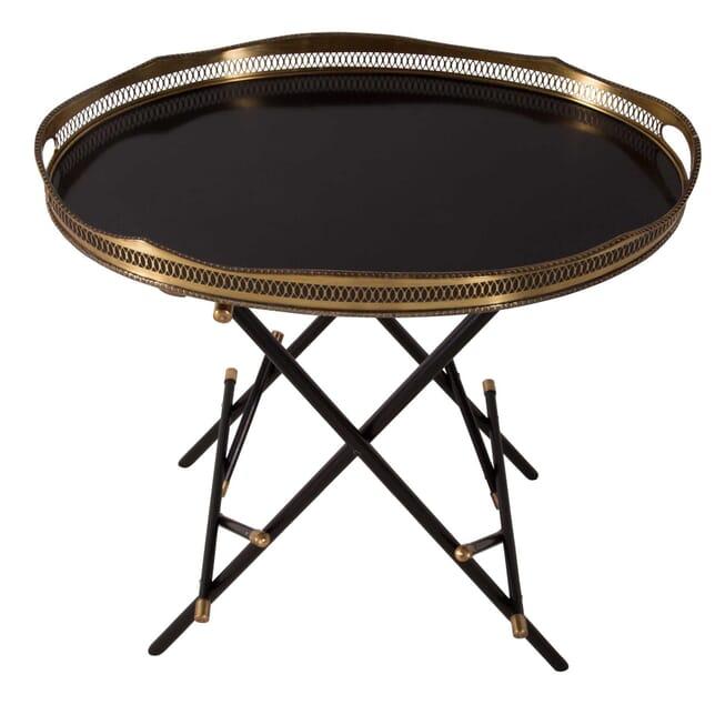 Spanish Ebonized Butlers Tray OF4559960