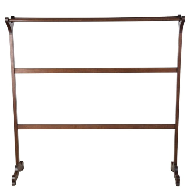 Early 19th Century Mahogany Towel Rail OF0555870