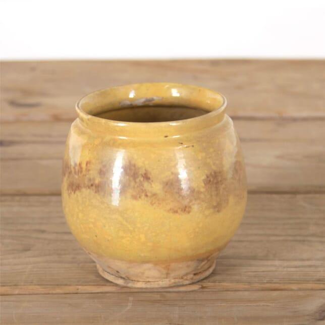 Mottled Yellow Cevennes Pot DA717274