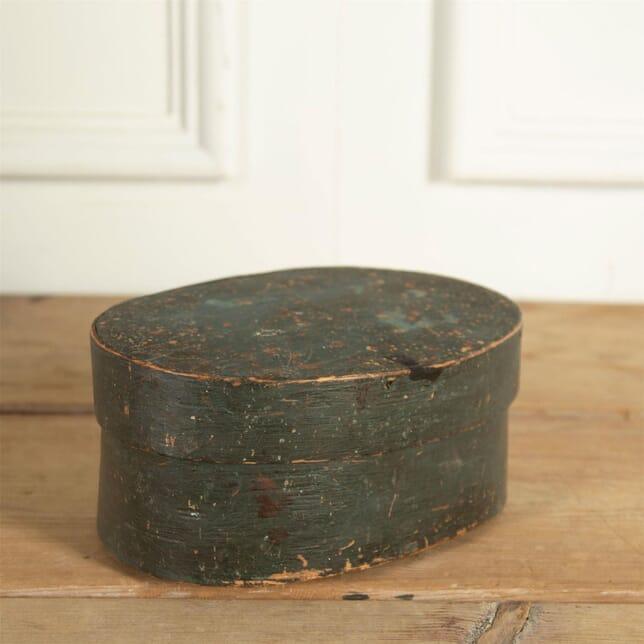 Small Swedish Painted Bentwood Box DA9061307