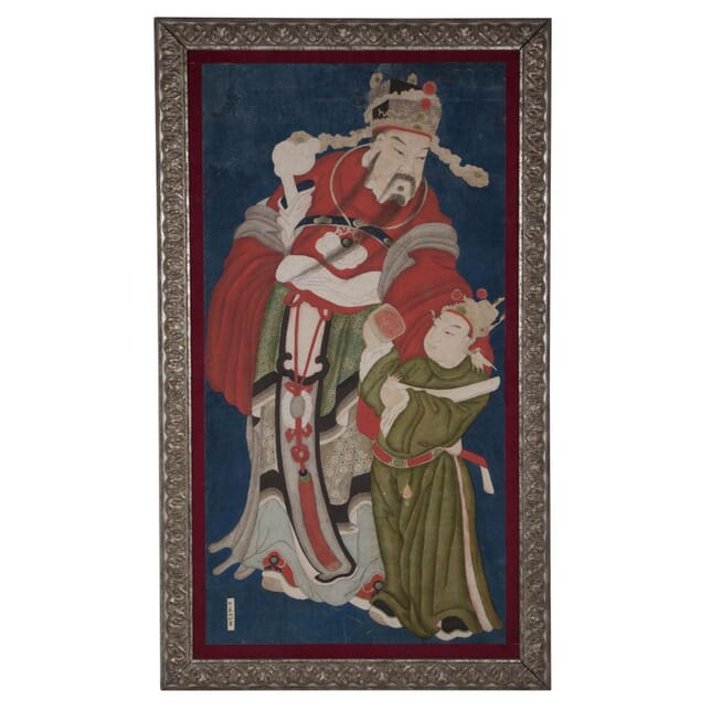 Chinese Gouche on Paper Painting WD274273