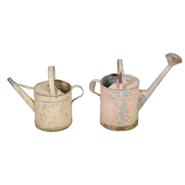 Pair of Metal Decorative Watering Cans GA5558021