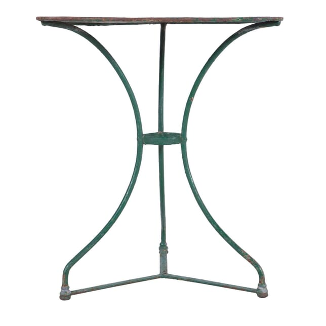 Green Painted Square Bistro Garden Table GA7159818