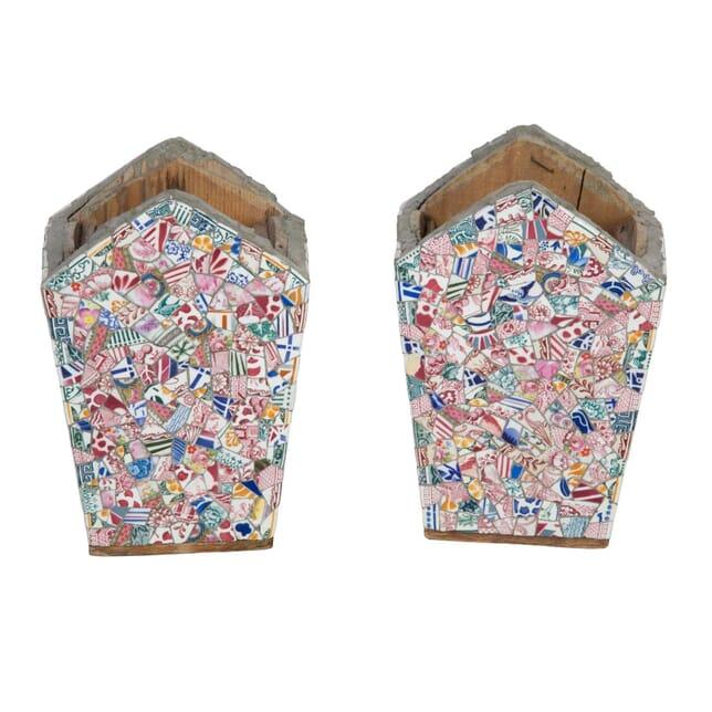 Pair of Mosaic Vases DA5558038