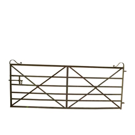 Large 19th Century Quality Wrought Iron Estate Gate GA427445