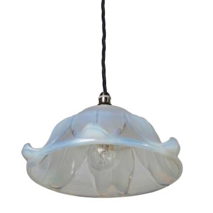 Art Deco Vaseline Pendant LC354739