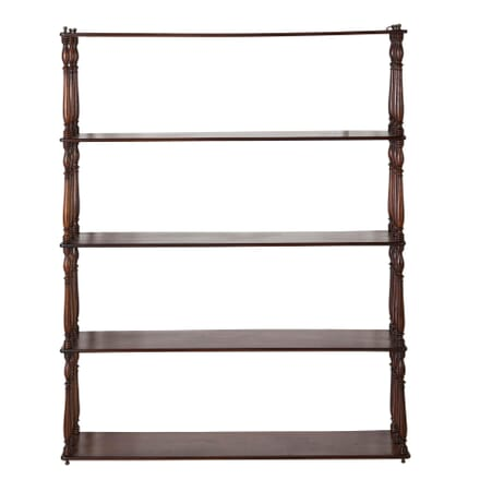19th Century Mahogany Shelves BK1559466