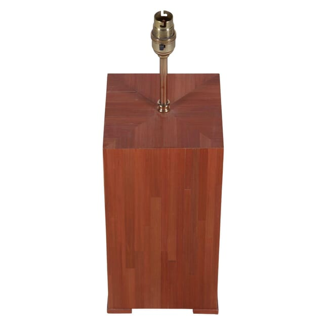 Straw Marquetry Lamp LT015298