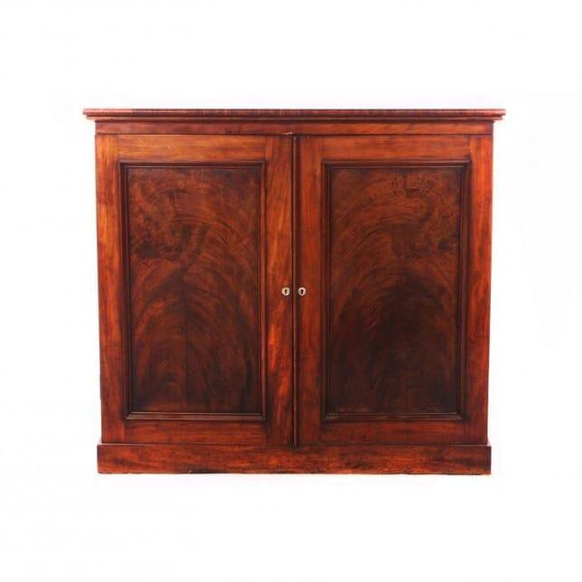 Flame-Mahogany Collectors Cabinet CC991764